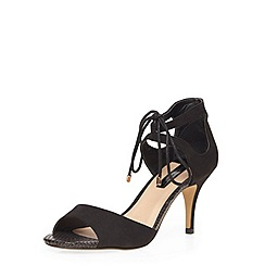 Dorothy Perkins - Black 'saphire' heeled sandals