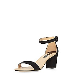 Dorothy Perkins - Black 'rocco' mid sandals