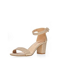 Dorothy Perkins - Champagne 'rocco' sandal