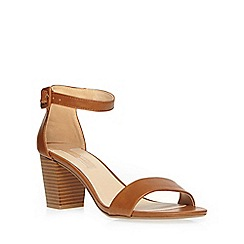 Dorothy Perkins - Tan 'rocco' mid sandals