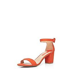 Dorothy Perkins - Orange 'rocco' sandals