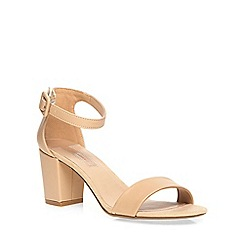 Dorothy Perkins - Nude 'rocco' heeled sandals