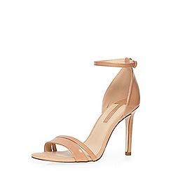 Dorothy Perkins - Nude 'sammie' minimal sandal