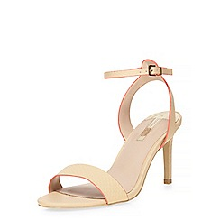 Dorothy Perkins - Nude 'skye' two part sandals