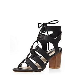 Dorothy Perkins - Black 'regan' lace up sandals