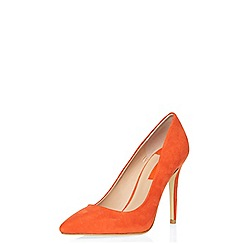 Dorothy Perkins - Orange emie high court shoes