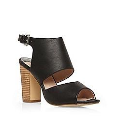Dorothy Perkins - Black 'sardinia' heeled sandals