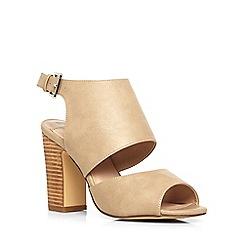 Dorothy Perkins - Stone 'sardinia' heeled sandals