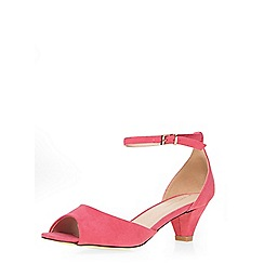 Dorothy Perkins - Pink 'richmond' heeled sandals