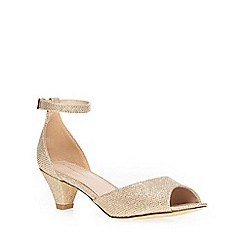 Dorothy Perkins - Champagne 'richmond' sandals