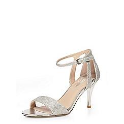 Dorothy Perkins - Silver 'rainbow' sandal