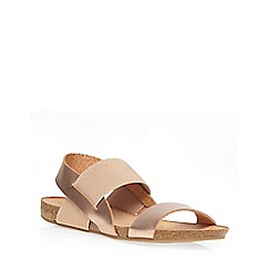 Dorothy Perkins - Nude 'salinas' sandals