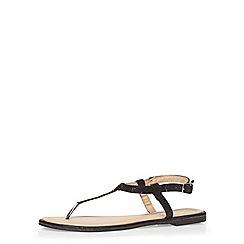 Dorothy Perkins - Black 'micasa' sandals