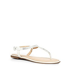Dorothy Perkins - White 'micasa' sandals