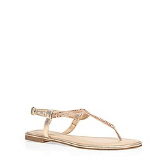 Dorothy Perkins - Nude 'micasa' sandals