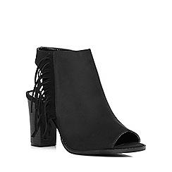 Dorothy Perkins - Black 'alexis' fringe boots