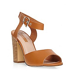 Dorothy Perkins - Tan 'scorpion' block sandal