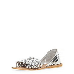 Dorothy Perkins - White 'summer' sandals