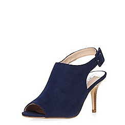 Dorothy Perkins - Navy 'rafa' heeled sandals