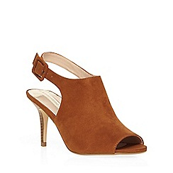 Dorothy Perkins - Tan 'rafa' heeled sandals