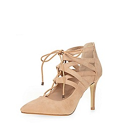 Dorothy Perkins - Blush ghillie court shoes