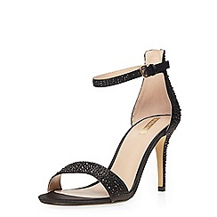 Dorothy Perkins - Black 'flirtini' sandals