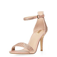 Dorothy Perkins - Blush 'flirtini' sandals