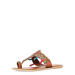Dorothy Perkins - Leather multi 'sosho' sandals