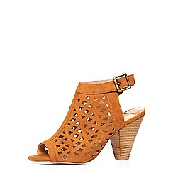 Dorothy Perkins - Tan 'angie' cut out boots