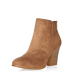 Dorothy Perkins - Tan 'alice' ankle boots