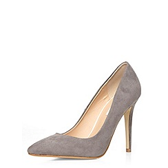 Dorothy Perkins - Grey 'emie' high court shoes