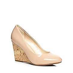 Dorothy Perkins - Blush chloe wedge court shoes