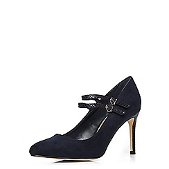 Dorothy Perkins - Navy patent mary jane courts