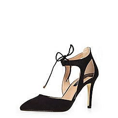 Dorothy Perkins - Black 'giselle' lace up court shoes