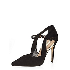 Dorothy Perkins - Black 'hilda' pointed court shoes