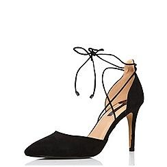 Dorothy Perkins - Black 'haven' open court shoes