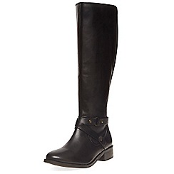 Dorothy Perkins - Black 'kandy' knee high boots