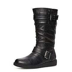 Dorothy Perkins - Black mid-calf boots