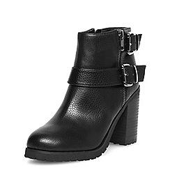 Dorothy Perkins - Black block heel ankle boots