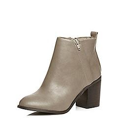 Dorothy Perkins - Grey lydia heeled boots