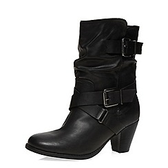 Dorothy Perkins - Black 'betsey' mid calf boots