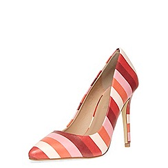 Dorothy Perkins - Pink stripe high pointed court