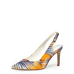 Dorothy Perkins - Palm print sling back courts