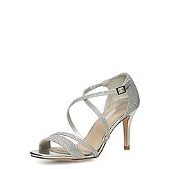 Dorothy Perkins - Silver blitzy sandals
