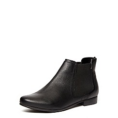 Dorothy Perkins - Black leather boots