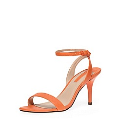 Dorothy Perkins - Orange minimal low heel sandal