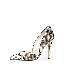 Dorothy Perkins - Snake effect high 2-part pointed court
