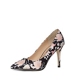 Dorothy Perkins - Floral print mid pointed courts