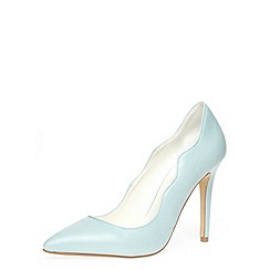 Dorothy Perkins - Blue high curve topline courts