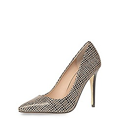 Dorothy Perkins - Nude geo pointed courts